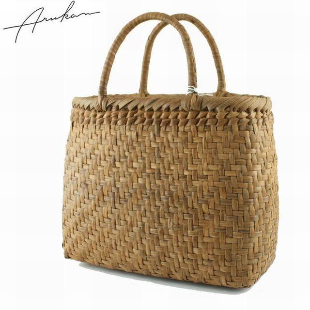 アルカン ARUKAN TAKAYA レディースバッグ 山ぶどう かごバッグ 使い込むほど味がでる山ぶどうバッグ 5645604 母の日 ブランド