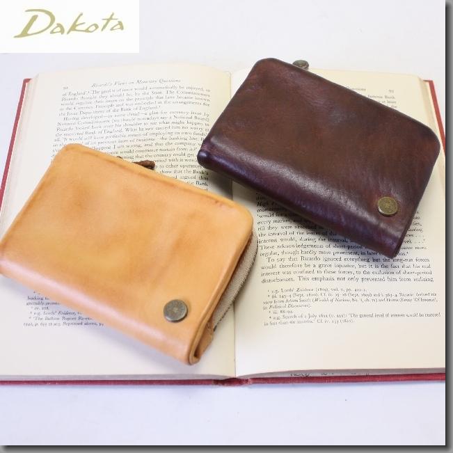 ダコタ 財布 DAKOTA 財布 革製 メンズ財布 ブラックレーベル ベルク メンズ二つ折り財布(送料無料)0623500父の日