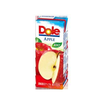 フルーツ 100%果汁 りんご セール特別価格 紙パック 雪印 メグミルク アップルジュース100% 200ml×18本入 雪印メグミルク ドール 超激得SALE