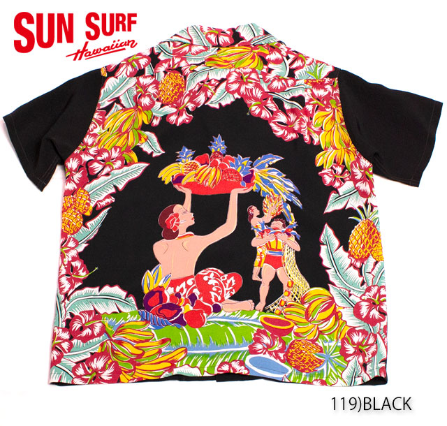 SUN SURF サンサーフ RAYON S/S SPECIAL EDITION PACIFIC SPORTS WEAR