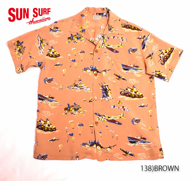 SUN SURF サンサーフ RAYON S/S SPECIAL EDITION OAHU GARMENT CO.