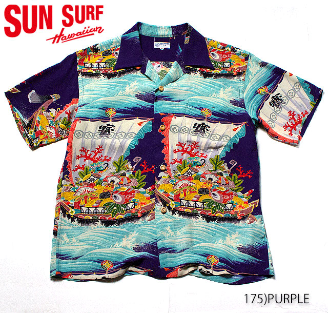 SUN SURF サンサーフ アロハシャツRAYON S/S SPECIAL EDITION MUSA-SHIYA LTD.