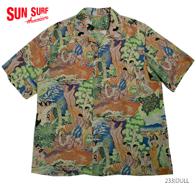 SUN SURF サンサーフ アロハシャツRAYON S/S SPECIAL EDITION KAMEHAMEHA