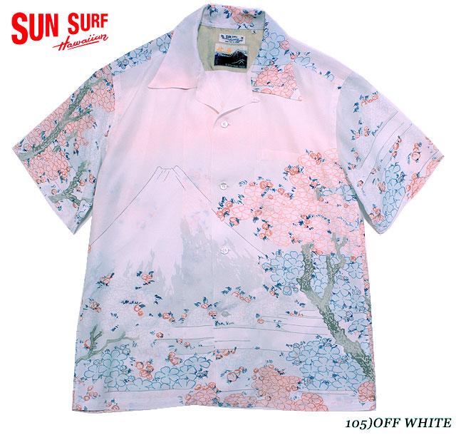 SUN SURF日本の意匠×葛飾北斎アロハシャツRAYON S/S