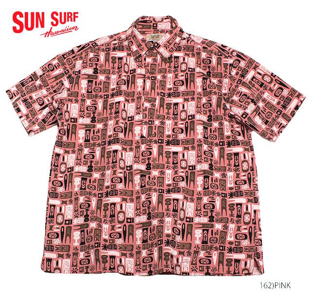 SUN SURF by Masked Marvelサンサーフ×別注 アロハシャツCOTTON P/O SHIRT