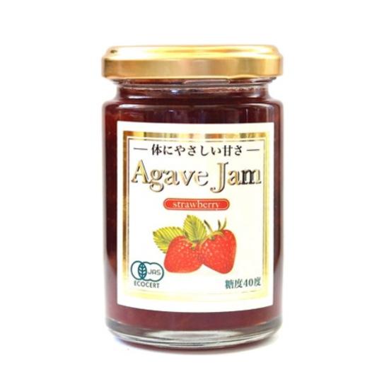 低GIアガベシロップで野生種ワイルドブルーベリーをジャムにしました 上品な香りと自然の味をお楽しみいただけます 保存料 酸味料 香料不使用 糖度40度 低GIのアガベシロップのやさしい甘さ 有機アガベジャムストロベリー140g 果実を多く使用し果実感を大切にしています 果実の味 セール 優先配送 酸味と甘さを感じられる甘すぎないジャムです