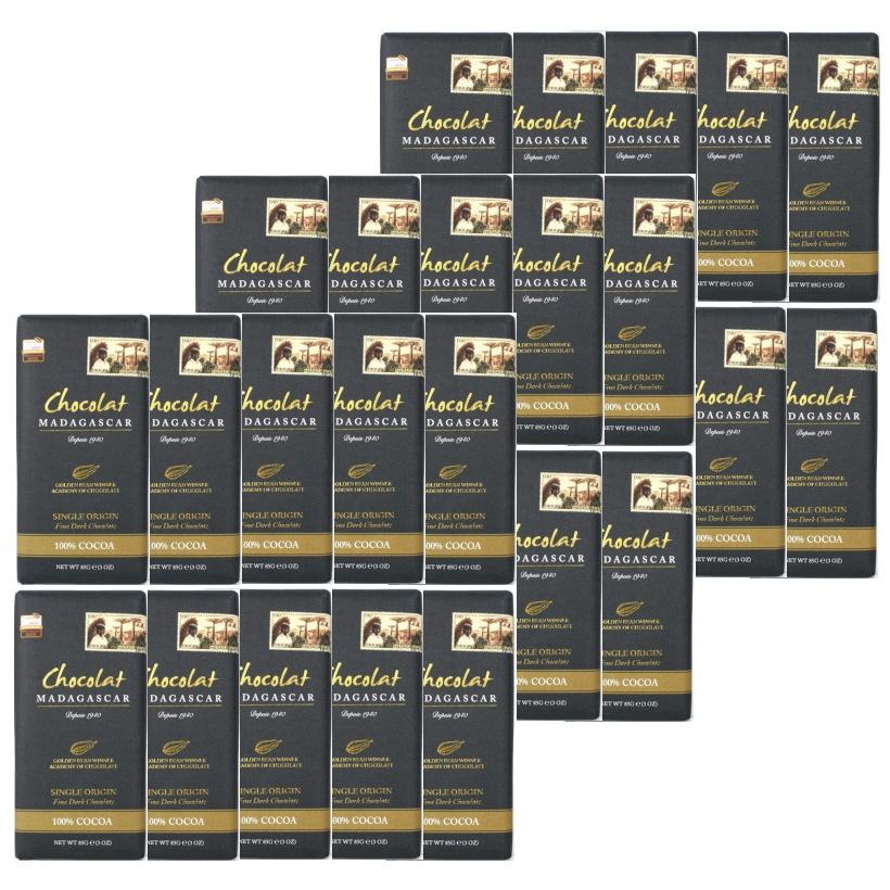 アカデミーオブチョコレート2016 銀賞 専門店 アカデミーオブチョコレート2017金賞 ゴールデンビーン金賞 世界一 ※夏季 5 1-9 ダークチョコレート85g100%×30 スーパーフード 30 バレンタインチョコ 驚きの値段で ショコラマダガスカル はクール便対応となります ショコラマダガスカルでもっとも人気のカカオ100%のダークチョコレート 口の中でゆっくりと溶かすと風味やアロマが繊細かつ大胆に変化していきます