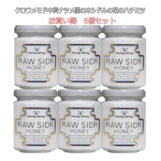 新作 大人気 シドル Sidr の花から採れる蜂蜜は漢方に使われる棗と同様に美容と健康維持に役立つ 黒蜜のような味わいが魅力的なミネラル豊富な蜂蜜です 生はちみつ 非加熱 クロウメモドキ科ナツメ属の木であるシドル シドルハニー honey 初売り の花から採れたハチミツです 140g sidr 6本