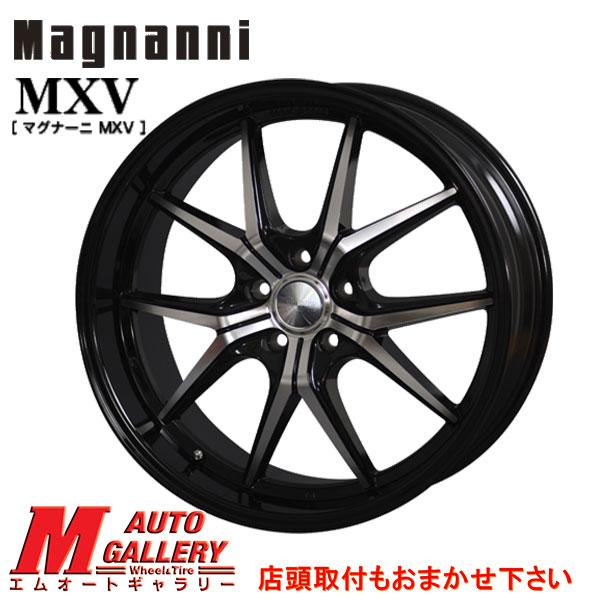 【5/15は最大37倍】【2018-2019年製】 235/55R19 TOYO Winter TRANPATH TX Magnanni MXV マグナーニ ブラックポリッシュ/ブラックリム 8.0J-19インチ 新品 スタッドレスタイヤ ホイール4本セット