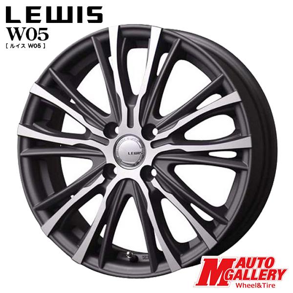 送料無料 165/50R15 TOYO トーヨー SD-K7 LEWIS ルイス W05 マットグレイポリッシュ 4.5J-15インチ 軽自動車用 新品 サマータイヤ ホイール4本セット
