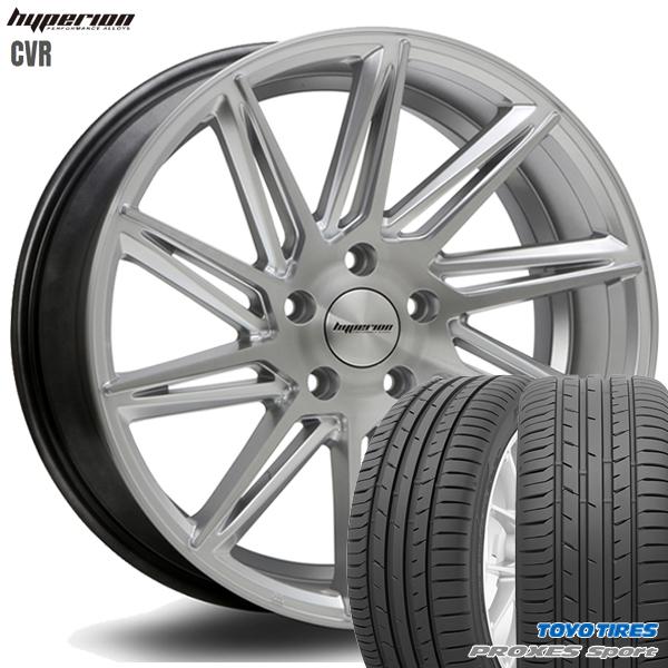 245/45R20インチ 5H114MLJ ハイペリオン CVR トーヨー プロクセススポーツ 新品サマータイヤ ホイール4本セット