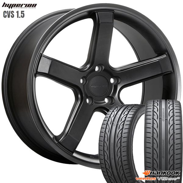 送料無料 245 40-20インチ 新品夏タイヤ ホイール4本セット 40R20インチ MLJ CVS1.5 出色 セール特価品 ハイペリオン 新品サマータイヤ ハンコック ホイールセット K120