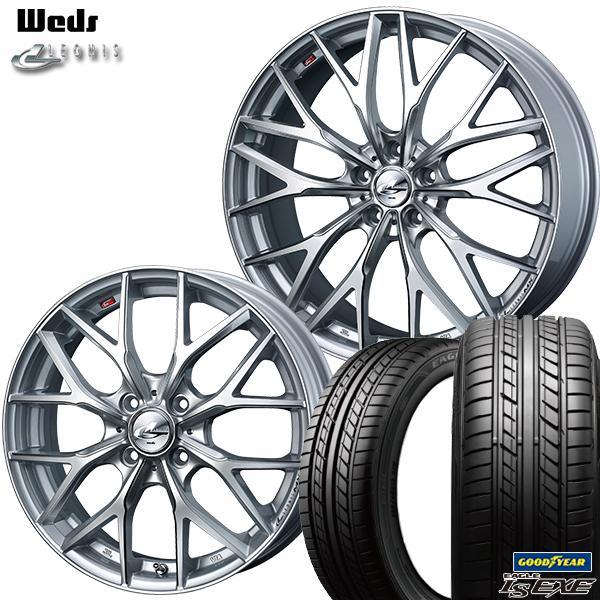 新品 高級 サマータイヤホイール 4本セット 送料無料 数量は多 215 45R17インチ5H114.3 ウェッズ SCグッドイヤー レオニス MX LS エグゼサマータイヤホイールセット HS EXE