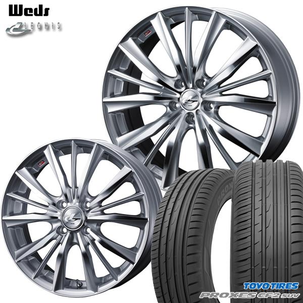 高品質 送料無料 送料無料 新品サマータイヤ 225/55R18インチ ウェッズ レオニス VX HSMC VX トーヨー プロクセスCF2 SUV 新品サマータイヤ ホイールセット, beqube(ビーキューブ):2cec516a --- immanannachi.com