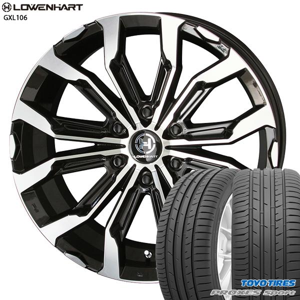 送料無料 265/50R20インチ レーベンハート GXL 106 TOYO トーヨー プロクセススポーツ SUV 新品サマータイヤ ホイール4本セット