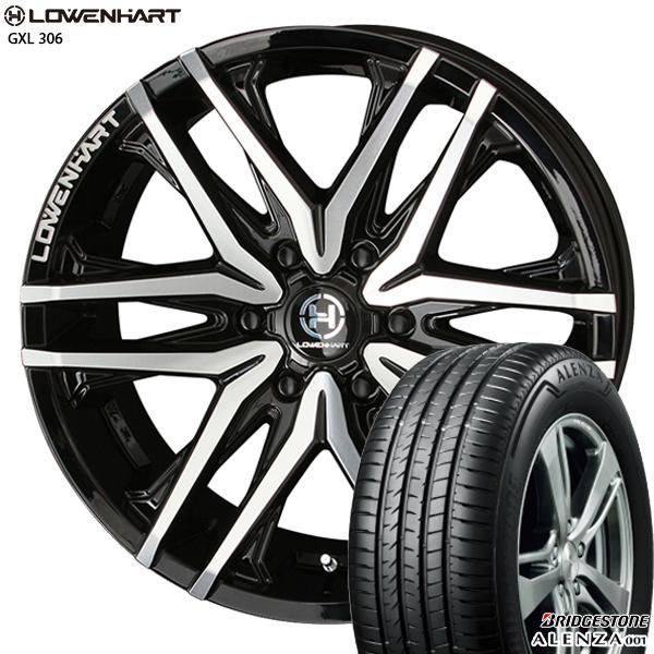 送料無料 285/50R20インチ レーベンハート GXL 306 ブリヂストン アレンザ001 新品サマータイヤ ホイール4本セット