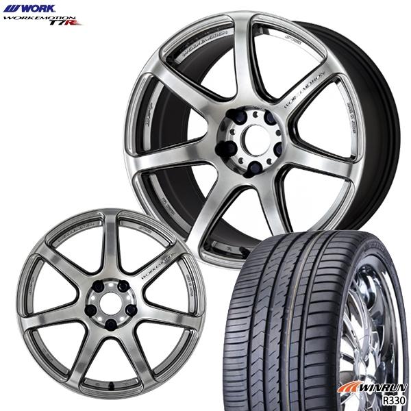 215/40R17インチ 5H114WORK ワーク エモーション T7R GTS WINRUN ウィンラン R330 新品サマータイヤ ホイール4本セット