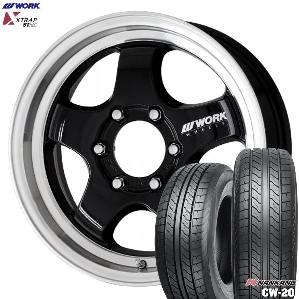 日本に 225/50R18インチ 6H139WORK XTRAP S1HC ナンカン S1HC サマータイヤ CW20 XTRAP サマータイヤ ホイール4本セット:エムオートギャラリー, ジャストパートナー:e1b2c25f --- fricanospizzaalpine.com