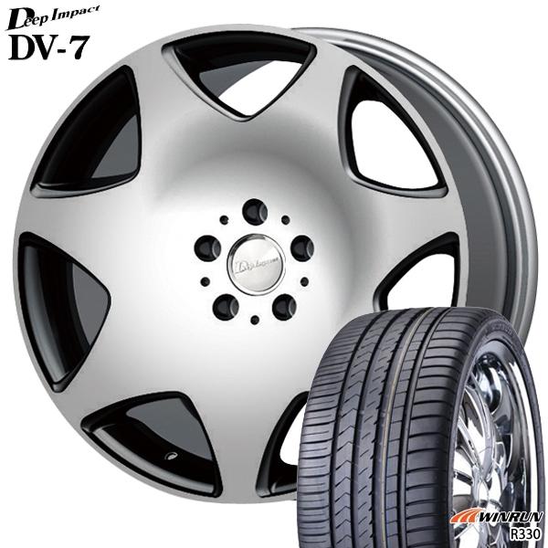 送料無料 245/35R20インチ ディープインパクトDV07 WINRUN ウィンランR330 新品サマータイヤ ホイールセット