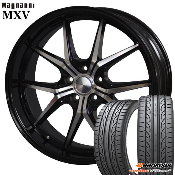 送料無料 245/45R20インチ マグナーニ MXV ハンコック K120 新品サマータイヤ ホイール4本セット