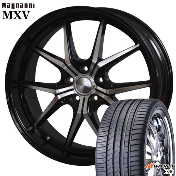 送料無料 225/35R20インチ マグナーニ MXV ウィンラン R330 新品サマータイヤ ホイール4本セット