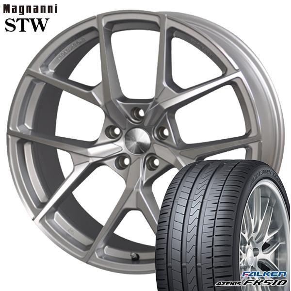 送料無料 215/35R19インチ マグナーニ STW ファルケン FK510 新品サマータイヤ ホイールセット