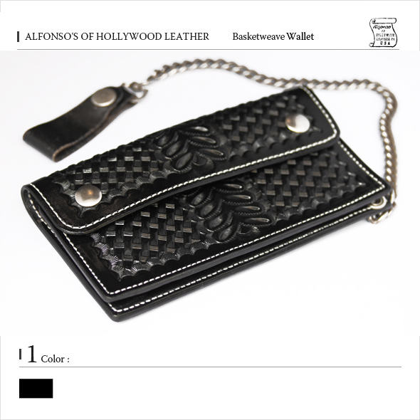 basukettouiburezauoretto/黑色阿方索of好莱坞皮革(ALFONSO'S OF HOLLYWOOD LEATHER)