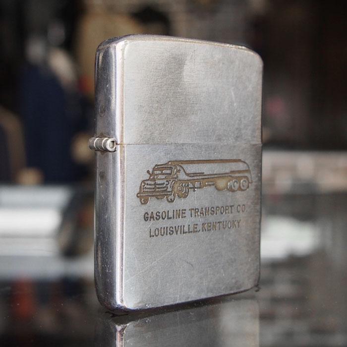 【メール便配送】 1950~1960年代製 ビンテージ オイルライター(GASOLINE TRANSPORT CO.)ジッポー zippo 【楽ギフ_メッセ】 送料無料