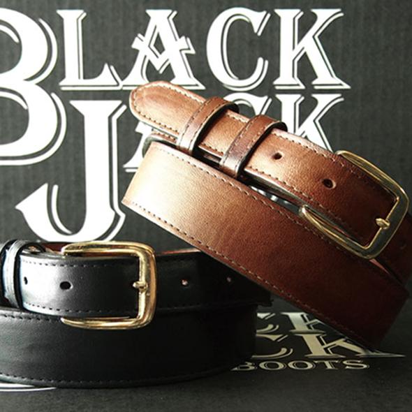 BLACK JACK BOOTS RANCH HAND 馬革 テーパード ベルト全2色