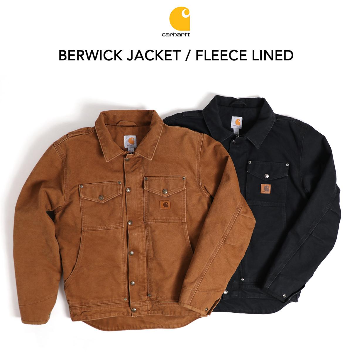 c7ccce6dcc9 Carhartt Berwick Fleece Lined Jacket - Image Of Jacket