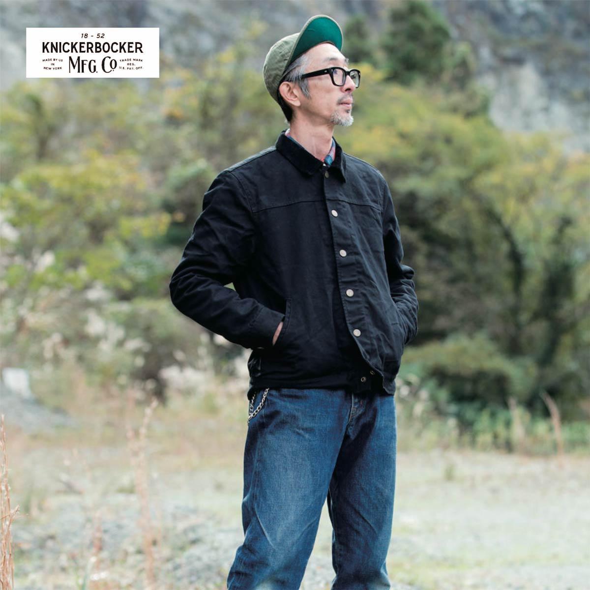 KNICKERBOCKER MFG.CO.(ニッカーボッカー)キャンパス ジャケット アメリカ製 USA製 送料無料【USA】