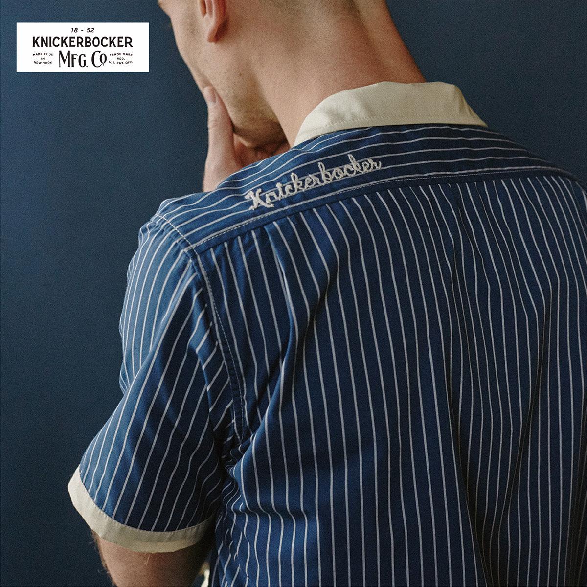 KNICKERBOCKER MFG.CO.(ニッカーボッカー)ボーリングシャツ全3色 アメリカ製