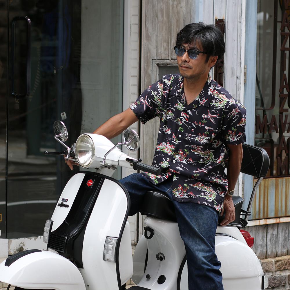 KNICKERBOCKER MFG.CO.(ニッカーボッカー)セントラルシャツ /Classic Hawaiian shirt