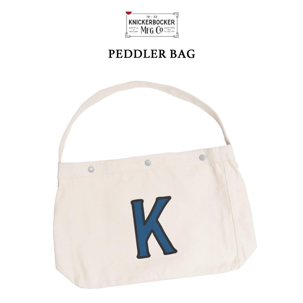 KNICKERBOCKER MFG.CO.(ニッカーボッカー)ペドラーバッグ キャンバスショルダーバッグ 送料無料