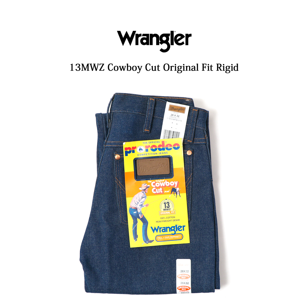 【全品10%OFFクーポン配布中 12/26 2時迄】Wrangler ラングラー ジーンズ #13MWZ カウボーイジーンズ 14.75oz Rigid デニム
