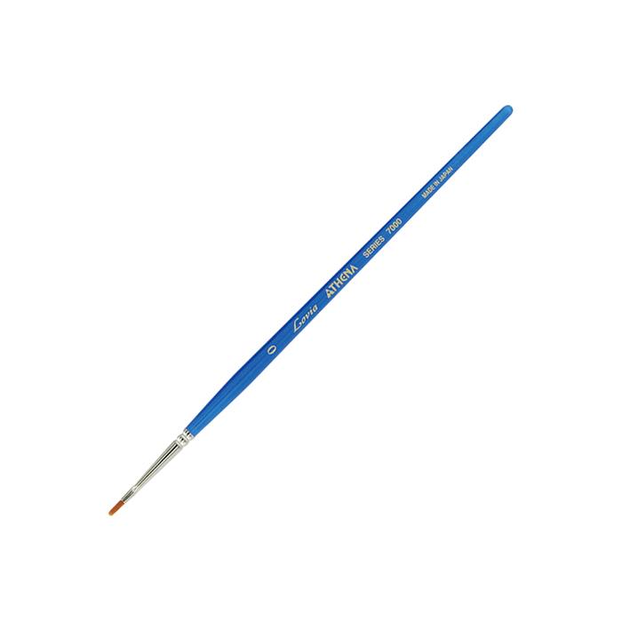 トールペイントにおすすめ アシーナのナイロン筆 サービス 人気上昇中 アシーナ ラヴィア フラット #0 7000シリーズ