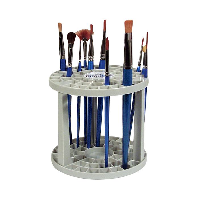 筆スタンド 筆ホルダー 筆を立てたまま収納 トールペイント 絵画 供え 新作送料無料 筆立て 模型制作に マルチビン ローコーネル