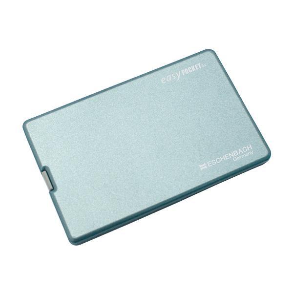 宅配便送料無料 高い透明度と高い倍率の薄型レンズ エッシェンバッハ easy POCKET 4倍 1521-22 代引き不可 イージーポケット ブルー