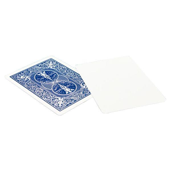 片面 お得セット バック 無地のトリックカード 供え PCM08 ブランクフェイス青 バイスクルマジックカード