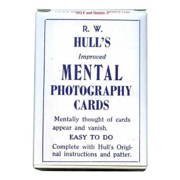 手品専用のカード バイスクルマジックカード メンタルフォトデック 年末年始大決算 PCM11 《週末限定タイムセール》