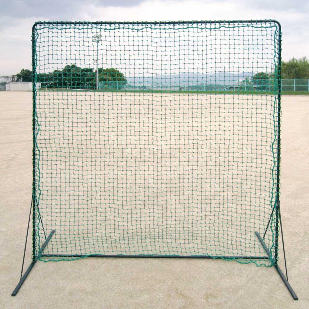 防球、受球、仕切りネット。 野球 フィールドフェンスネット BX77-92