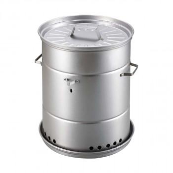 ビア缶チキンと燻製ができる 人気ブレゼント 1台2役のスモーカー CAPTAIN STAG UG-1058 実物 スモーカー キャプテンスタッグ ビア缶チキン