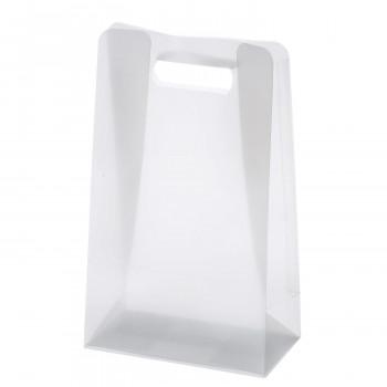 半透明の透け感も優しい雰囲気を感じさせてくれます 梱包資材 ラッピング用品 クリアケース クリアランスsale 期間限定 200個セット T-2 ピュアバッグ 激安 360202