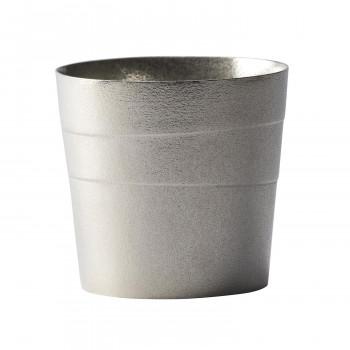 ☆最安値に挑戦 酔いしれるように漂う 緩やかな波をイメージしたデザイン 銀雅堂 静波 錫製 ロックグラス SHIZUNAMI ついに入荷
