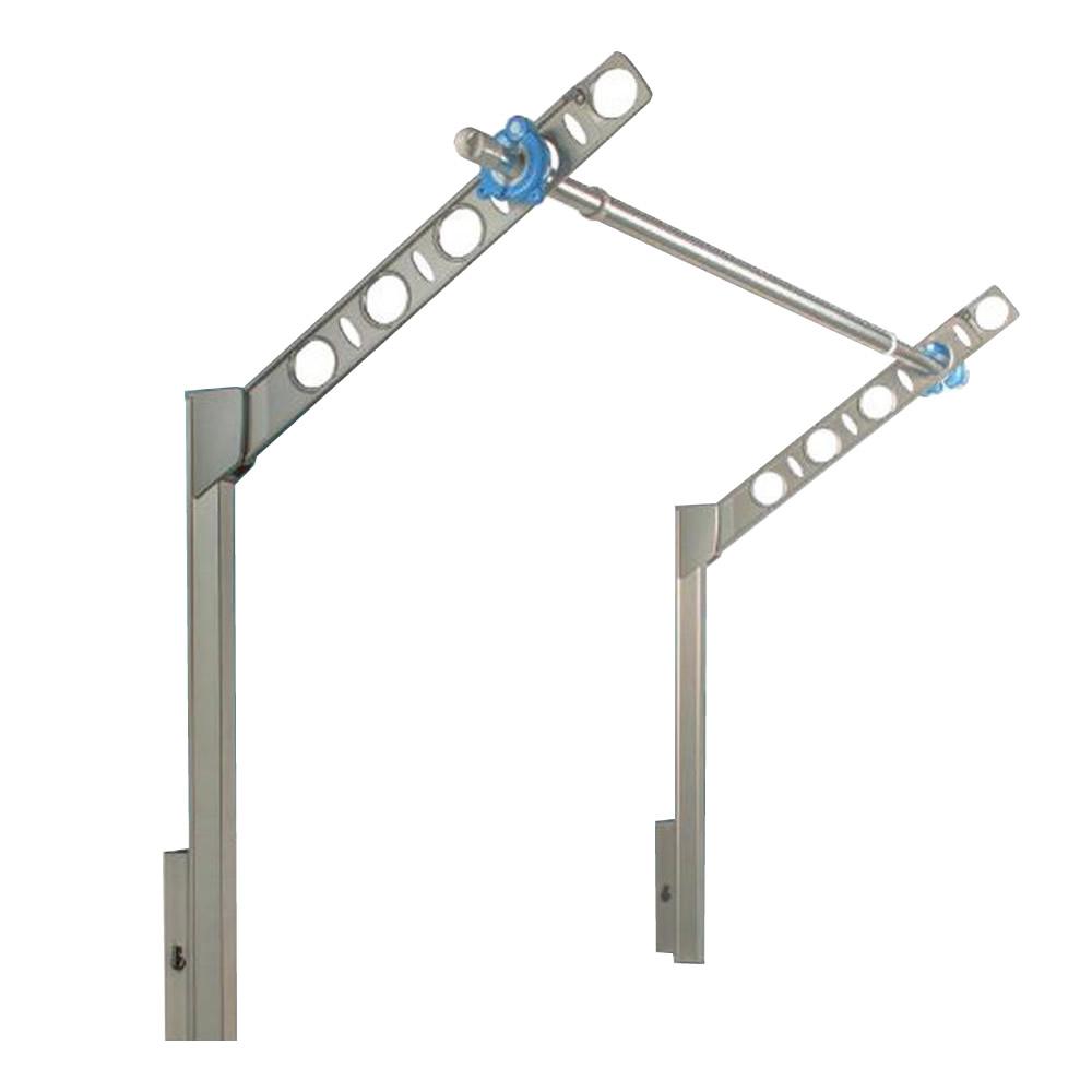 DRY・WAVE 腰壁用可動式物干金物 ロングタイプ SFL55 ステンカラー