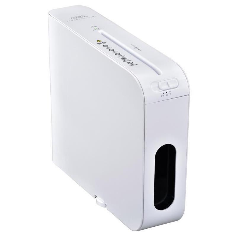 オーム電機 OHM スリムマイクロカットシュレッダー SHR-MX700-W