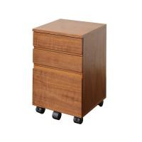 Walnut Desk Chest(デスクチェスト) W340 K-2547BR