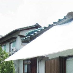 萩原工業 遮熱シート スノーテックス・クール 約1.8×2.7m 16枚入