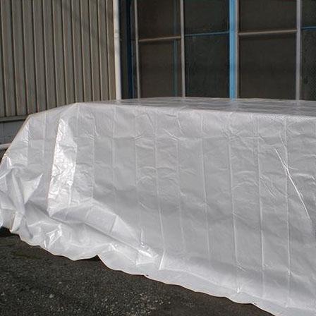 日差しから品物を守る!!遮熱・防水カバー☆厚手タイプ♪ 萩原工業 遮熱シート スノーテックス・スーパークール 約2.7×3.6m 8枚入