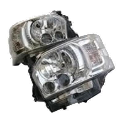 SoulMates 200系ハイエース(1・2・3型用) カスタム用LEDヘッドライト 4型ルック シルバータイプ GTH-008